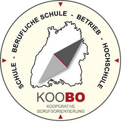 KOOBO Logo. Kooperation Berufsorientierung.