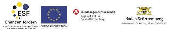 Partner. ESF, Europ?ische Union, Bundesagentur f?r Arbeit, Land Baden-W?rttemberg